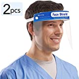 Promise2134 Face Shield Disposable Safety Shield Protect Eyes and Face from Air-Borne Droplets with...