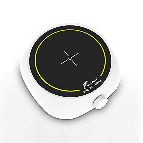 Agitatore magnetico da laboratorio con piastra di agitazione a velocità variabile per latte | caffè | decanter per vino, piatto da 5,3 pollici di diametro, 3000 ml