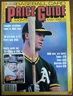 Mark McGwire Baseball Card Price Guide May 1988