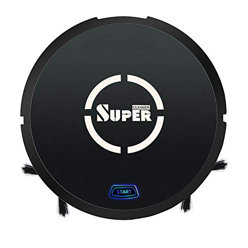 Buy Discount XCQLEI Robot Vacuum Cleaner, 3 in 1 Automatic USB Rechargeable Smart Sweeping Machine w...