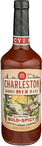 Charleston Mix, Cocktail Mix Bloody Mary Bold And Spicy, 32 Fl Oz