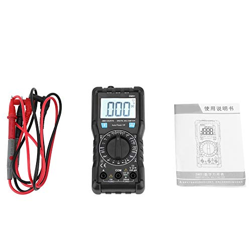 Mini multímetro portátil DM91 multímetro digital multímetro de medición electrónico de alta precisión