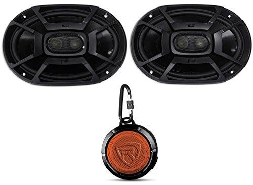 2 Polk Audio DB692 6x9 450w Car/Marine/ATV/Motorcycle Speakers+Speaker