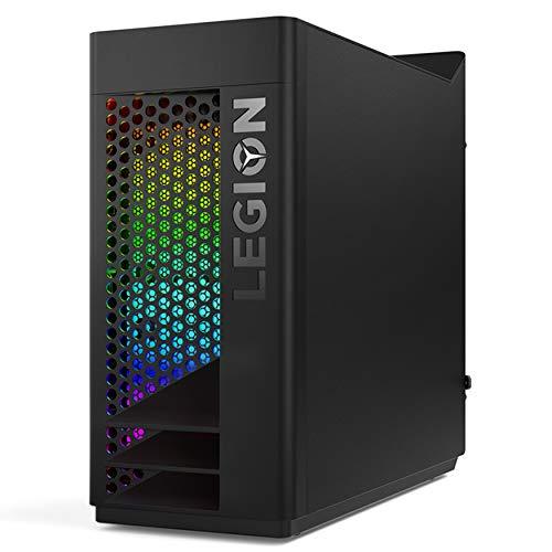 Lenovo Legion T730 Desktop Gaming, Processore Intel Core i7-9700K,512GB SSD,RAM 16GB, Scheda Grafica NVIDIA GeForce RTX 2070 SUPER 8GB GDDR6, Masterizzatore DVD±RW, Keyboard+Mouse USB, Black