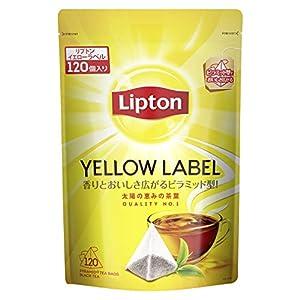 【Amazon.co.jp限定】 リプトン イエローラベル 120袋 ティーバッグ