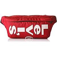 LEVIS FOOTWEAR AND ACCESSORIESBanana SlingHombreShoppers y bolsos de hombroRojo (B Red)5.5x10x25.5 centimeters (W x H x L)