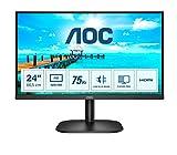 Monitor Aoc LED 23,8 pulgadas Wide 24b2xdm Va 1920x1080 4ms 250cd/mq 3.000-1 (20.000.0