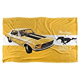 Trevco Ford Mustang Mach 1 Silky Super Soft Throw Blanket 36' x 58'