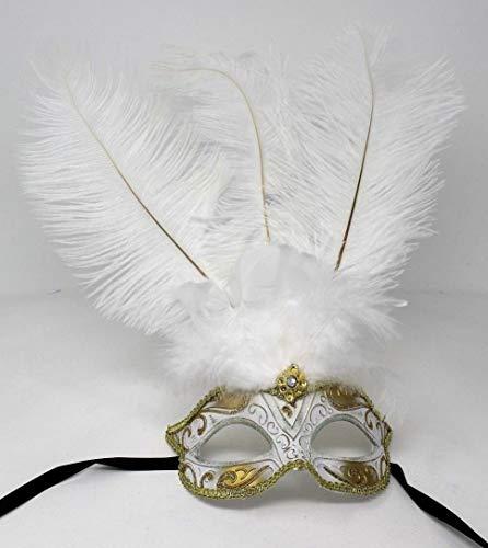 Máscaras Blancas Venecianas Marca Life Is Good