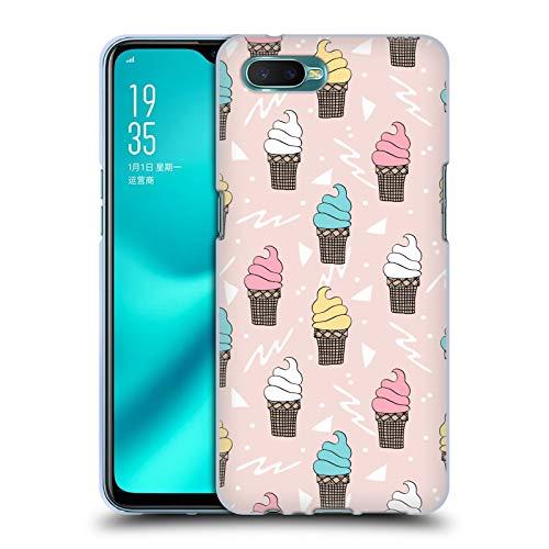 Officiële Andrea Lauren Design IJs Voedsel Patroon Soft Gel Case Compatibel voor Oppo R15x