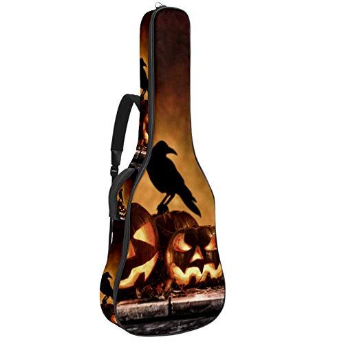 Bennigiry Bolsa de guitarra de mesa de madera vieja de calabaza para guitarrista