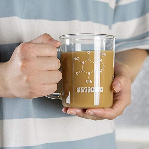 GLASKEY Caffeine Mug-16oz