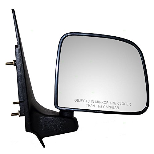Passengers Manual Side View Mirror Replacement for Ford Mazda Pickup Truck F87Z17682SAA AutoAndArt