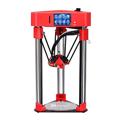 Docooler Desktop 3D-printer, zeer nauwkeurige 3D-printer, mini desktop 3D-printer voor thuisgebruik, met TFT 2,8 inch touchscreen rood