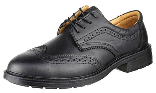 Amblers Safety Mens FS44 Safety Brogue in Black - Size 9 UK - Black