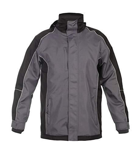 Hydrowear 072391P - Parka para orbar (100% poliéster, talla 4XL), color gris y negro