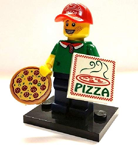 Lego Minifigure - Series 12 - Pizza Delivery Man - 71007