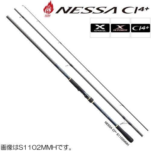 シマノ(SHIMANO) スピニングロッド ネッサ CI4+ フラットフィッシュ S1102MMH 11.2フィート