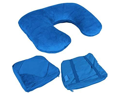 Emanhu Trading Multifunktionskissen Rückenkissen ONE-4-GO (Blau)
