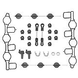 teng hong hui Reemplazo para A4 / A5 / A6 / A8 2004-2012 24pcs del Tipo de Coche/Set chapaletas de admisión del colector de admisión Remolino Kit Colector de admisión del Remolino Flaps Reparación
