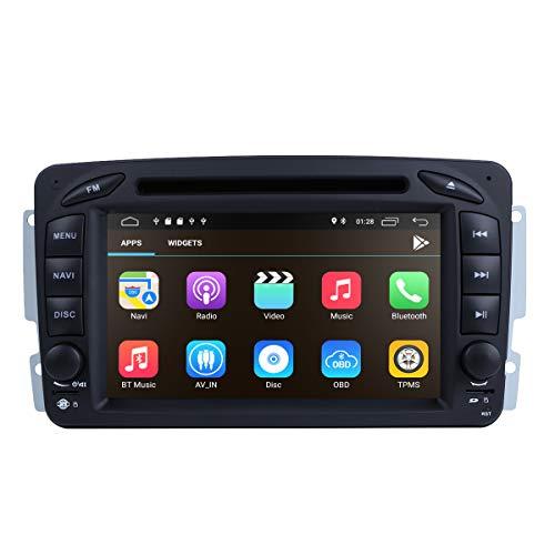 Android 10 Reproductor de DVD estéreo para automóvil DSP Incorporado Sistema Multimedia...