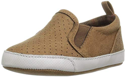 The Children's Place Baby-Boy's Slip On Sneaker Snow Boot, Roasted Nuts, 6-12MONTHS Child US Infant