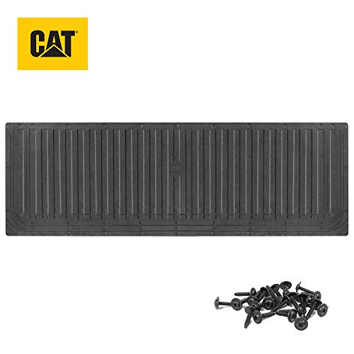 "Caterpillar Ultra Tough Heavy Duty Truck Tailgate Mat/Pad/Protector - Universal Trim-to-Fit Extra-Thick Rubber for All Pickup Trucks 62"" x 21"" (CAMT-1509)"