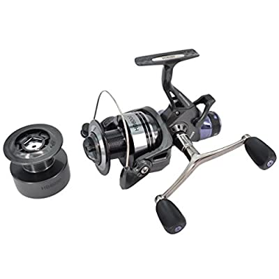 Hirisi Tackle® Carp Fishing Reel Spinning Free Runner with Free Extra Spool ... by Hirisi