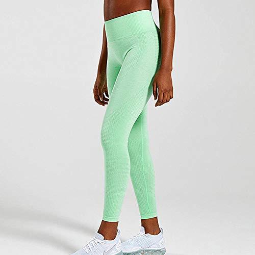 Naadloze legging met hoge taille, push-up legging, yoga yogabroek voor dames, energie naadloze legging