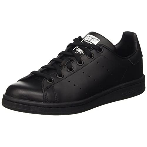 adidas Stan Smith J, Scarpe da Basket Unisex-Adulto, Nero (Black M20604), 37 1/3 EU