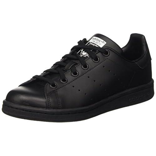 adidas Stan Smith J, Scarpe da Basket Unisex-Adulto, Nero (Black M20604), 38 EU