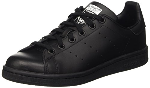 adidas - Stan Smith - Chaussures - Mixte Enfant - Noir (Black/Black/Footwear White 0) - 37 1/3 EU