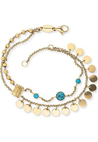 Engelsrufer Damen-Armband Edelstahl One Size Gold 32013912