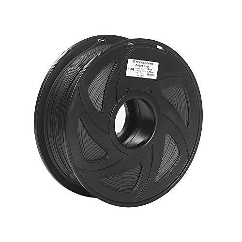 Fucaiqian CCH-YS Materiales, 1pc 3D Impresora PLA Filamento Fibra de Carbono Precisión Dimensional +/-0.02mm 1KG 343M 2.2 lb 3D Material de Impresión PLA