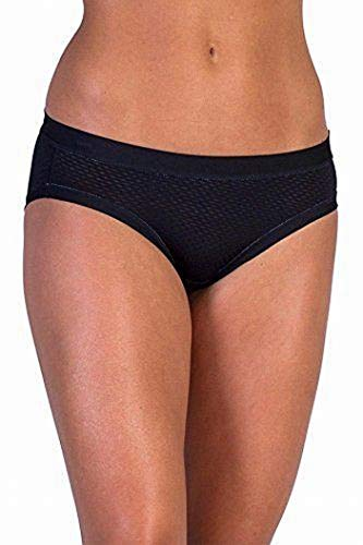 ExOfficio Women's Give-N-Go Sport Mesh Bikini Brief, Black, Medium