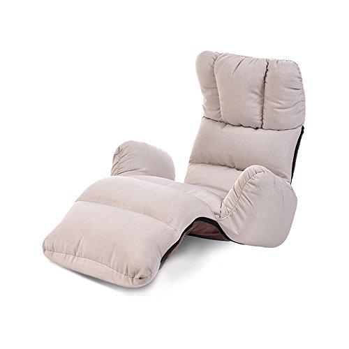 Silla ZHAIZHEN Tumbona balancín Lazy Sofá Plegable de Tela Individual Lavable reclinable Sofá salón Dormitorio Balcón Salón para Patio al Aire Libre