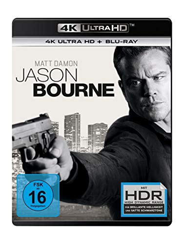 Jason Bourne (4K Ultra HD) (+ Blu-ray)