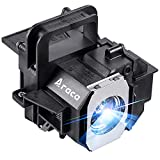 Araca ELPLP49 /V13H010L49 Replacement Projector Lamp Bulb for Epson PowerLite Home Cinema 8350 8700UB 8500UB 7500UB 8345 8100 6500UB 6100 9500UB 9700UB H373A H336A H291A PowerLite HC 8350 H420A H419A