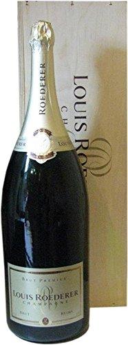 Louis Roederer Brut Premier Champagner 9,0l Grossflasche inkl. Holzkiste