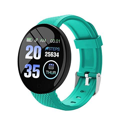 YUOXO Smart Armband Wasserdicht Pedometer Smart Sport Uhr Fitness Tracker Volle Touchscreen Druck Messung Schlaf Herz Rate Monitor Wasserdicht für Frauen Männer