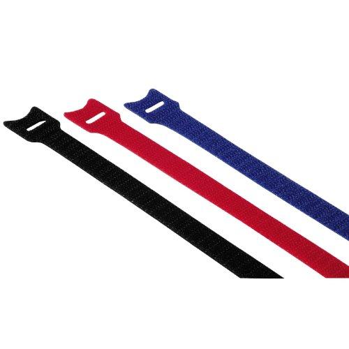 Hama Klett-Kabelbinder, 200mm, 12 Stück, farbig