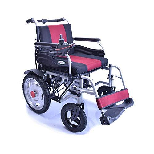 L-Y rolstoel, vierwielige ouderen, praktische elektrische rolstoel, invalide, opvouwbare rolstoel, lichte intelligente roller, belastbaarheid 120 kg