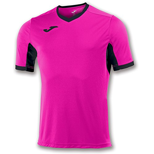 Joma Champion IV M/C Camiseta Equipamiento, Hombre, Rosa/