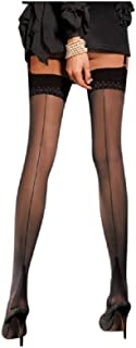 TRASPARENZE Alvie Fashioned Black Tights Various Sizes