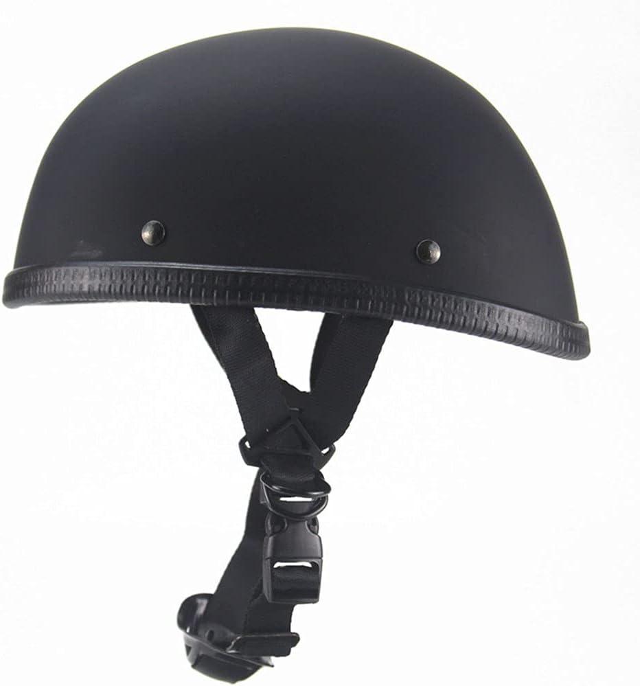 XFSHKJS Vintage Adults Moto Open-Face Helmet OFFicial mail order Half Spasm price Re