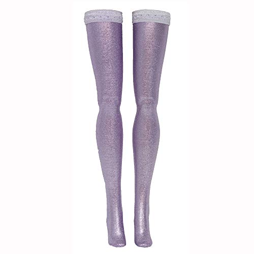 Metallic Solid Doll Stockings for Ever After and Monster High dolls - all sizes