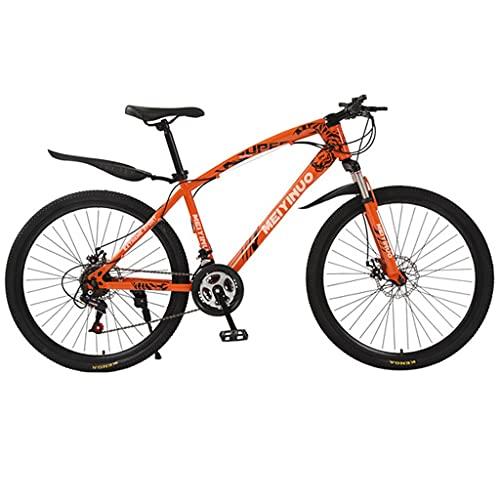 Bicicleta de montaña Mountainbike Bicicleta 26 pulgadas bicicleta de montaña 21/24/27 Montaña velocidad de bicicletas for hombres y mujeres, ruedas de doble suspensión Bici Bicicleta De Montaña Mounta