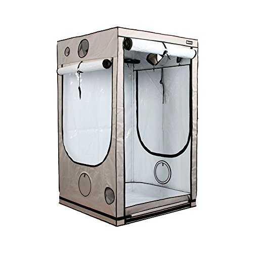 Armario de cultivo interior HOMEbox® Ambient Q120 PAR+ (120x120x200cm)