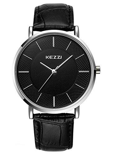 Kezzi Hombres Relojes K738 Ultra-delgada...