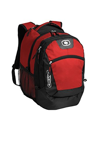 """OGIO Rogue 17"""" Computer Laptop Backpack, Red"""
